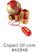 Presents Clipart #43848 by Frank Boston