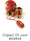 Presents Clipart #43849 by Frank Boston