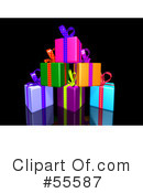 Presents Clipart #55587 by Julos