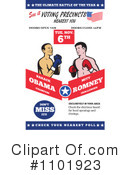 Royalty-Free (RF) Presidential Election Clipart Illustration #1101923