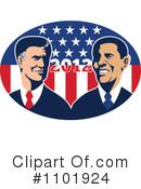 Royalty-Free (RF) Presidential Election Clipart Illustration #1101924