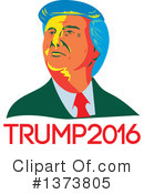 Royalty-Free (RF) Presidential Nominee Clipart Illustration #1373805