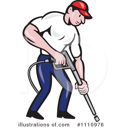 Pressure Washer Clipart #1110976 by patrimonio