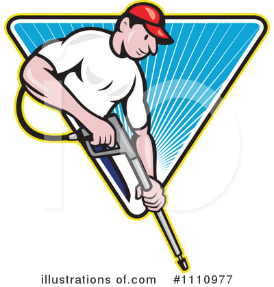 Pressure Washer Clipart #1110977 by patrimonio