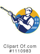 Pressure Washer Clipart #1110983