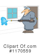 Royalty-Free (RF) Pressure Washer Clipart Illustration #1170559