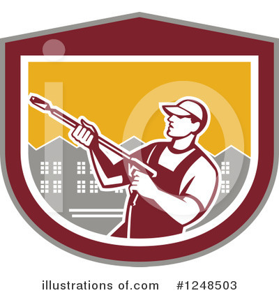 Pressure Washer Clipart #1248503 by patrimonio