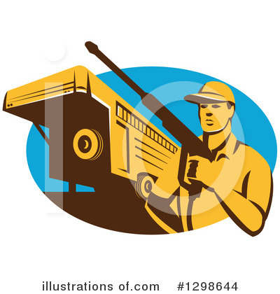Pressure Washer Clipart #1298644 by patrimonio