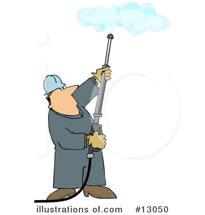 Pressure Washer Clipart #13050 by djart