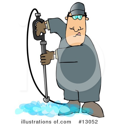 Pressure Washer Clipart #13052 by djart