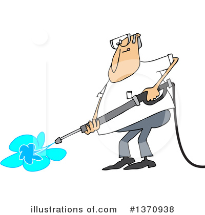 Pressure Washer Clipart #1370938 by djart