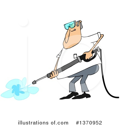 Pressure Washer Clipart #1370952 by djart