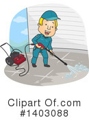 Pressure Washer Clipart #1403088