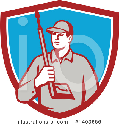 Pressure Washer Clipart #1403666 by patrimonio