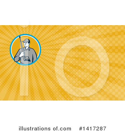 Pressure Washer Clipart #1417287 by patrimonio