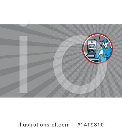 Pressure Washer Clipart #1419310 by patrimonio