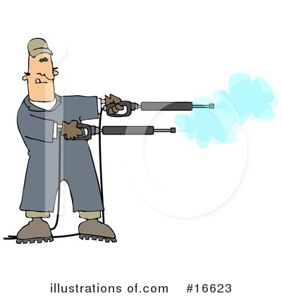 Pressure Washer Clipart #16623 by djart