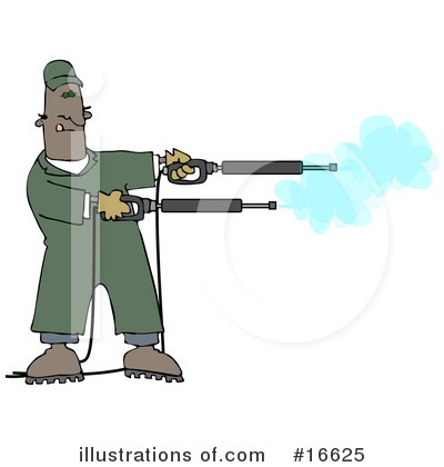 Pressure Washer Clipart #16625 by djart