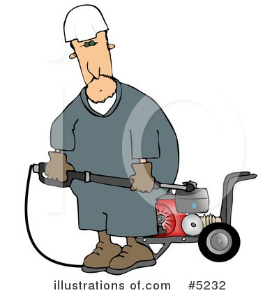 Pressure Washer Clipart #5232 by djart