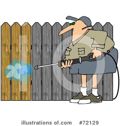 Pressure Washer Clipart #72129 by djart