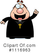 Priest Clipart #1116963 by Cory Thoman