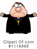 Priest Clipart #1116965 by Cory Thoman