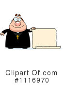 Priest Clipart #1116970 by Cory Thoman