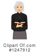 Priest Clipart #1247912