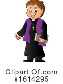 Priest Clipart #1614295 by visekart