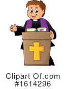 Priest Clipart #1614296 by visekart