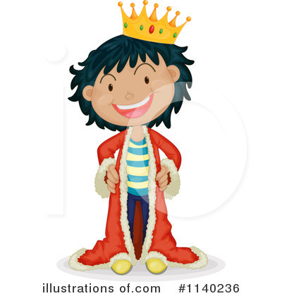 King Clipart #1140236 by Graphics RF