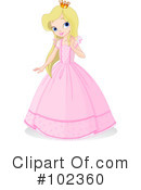 Princess Clipart #102360 by Pushkin