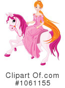 Princess on a horse clipart 1 4 royalty free rf illustrations