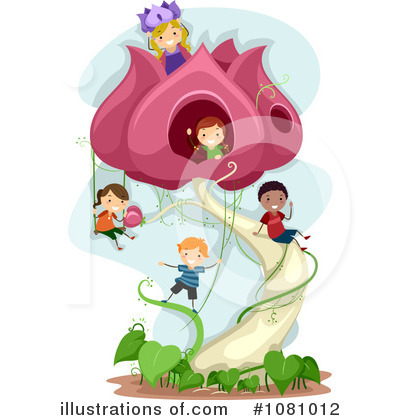 Royalty-Free (RF) Princess Clipart Illustration by BNP Design Studio - Stock Sample #1081012