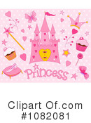 Royalty-Free (RF) Princess Clipart Illustration #1082081