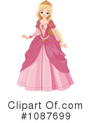 Royalty-Free (RF) Princess Clipart Illustration #1087699