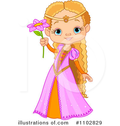 Rapunzel Clipart #1102829 by Pushkin