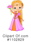 Princess Clipart #1102829 by Pushkin
