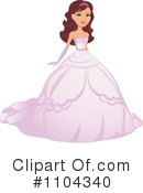 Princess Clipart #1104340 by Monica