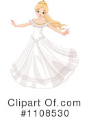 Royalty-Free (RF) princess Clipart Illustration #1108530