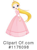 Royalty-Free (RF) Princess Clipart Illustration #1176098