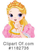 Royalty-Free (RF) Princess Clipart Illustration #1182736