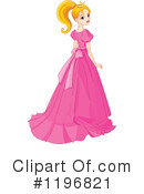 Princess Clipart #1196821 by Pushkin