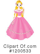 Royalty-Free (RF) Princess Clipart Illustration #1200533