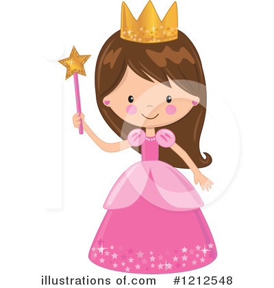 Royalty-Free (RF) Princess Clipart Illustration by peachidesigns - Stock Sample #1212548