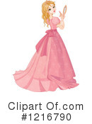 Princess Clipart #1216790 by Pushkin