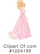 Princess Clipart #1224165 by Pushkin