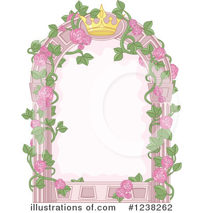 Royalty-Free (RF) Princess Clipart Illustration by Pushkin - Stock Sample #1238262