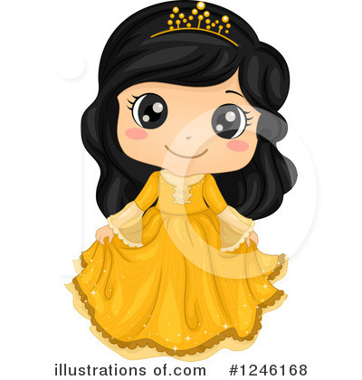 Royalty-Free (RF) Princess Clipart Illustration by BNP Design Studio - Stock Sample #1246168
