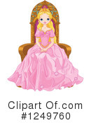 Princess Clipart #1249760 by Pushkin